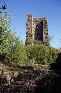 Tour du château du Grand Geroldseck - Crédit : ADT67 C. Fleith