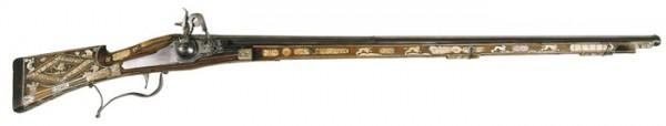 Arquebuse à rouet de chasse de 1593