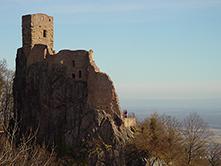 ruine château fort