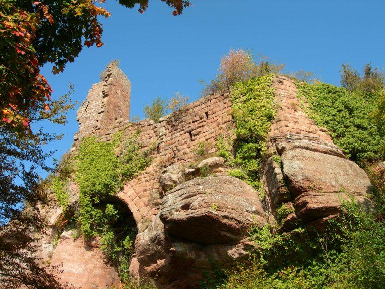 Donjon du château de Guirbaden - Crédit : ADT67 C. Fleith