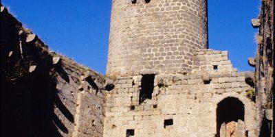 Tour du château du Haut-Andlau - Crédit : ADT C. Fleith