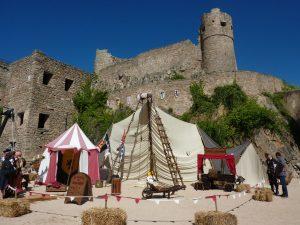 Fêtes et réjouissances au château du Hohlandsbourg - Crédit : ADT
