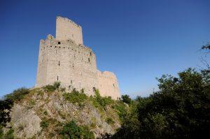 Facade Ouest du château de l'Ortenbourg - Crédit : C. Dumoulin