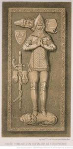Pierre tombale du chevalier de Ribeaupierre