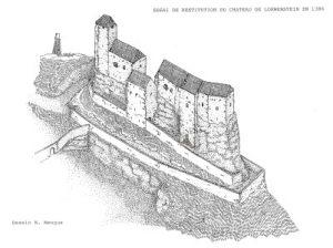 Restitution du Loewenstein en 1387