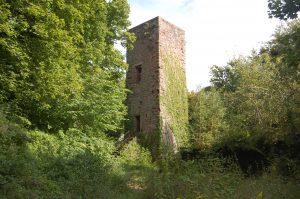 Tour médiane du château de Greifenstein - Crédit : ACFA