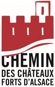 Logo chemin chateaux forts d'Alsace